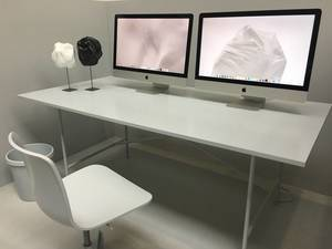 Modern Office Desk with iMac
