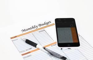 Monatliches Budget