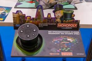 Monopoly Voice Banking - der sprachgesteuerte Zylinder organisiert das gesamte Spiel
