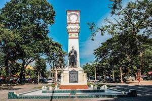 Monument von Jose Rizal in Dumaguete City (Flip 2019)