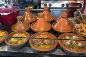 Moroccan Tagine at Danilovsky Market in Moscow
