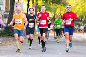 Möser Ronald, Möbius Christian, Jochem Manuel, Rinaldo Marco - Köln Marathon 2017
