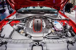 Motor Präsentation des Audi Modells S6 bei der IAA 2017 in Frankfurt am Main