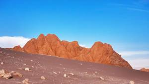 Mountain in Valle de la Luna / Berg in Valle de la Luna