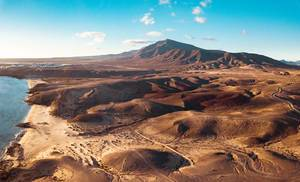 Mountain range at Costa de Papagayo