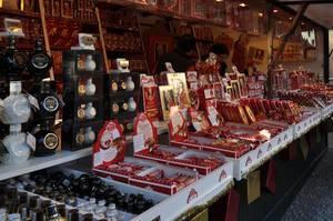 Mozartkugeln am Salzburger Christkindlmarkt