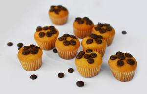 Muffins with chocolate