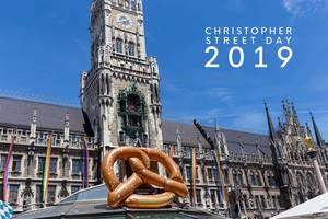 München ist bunt für den Christopher Street Day 2019