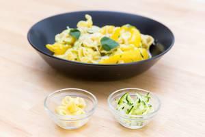 Mushroom Fiorelli and Zucchini