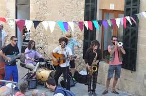 Musikgruppe in Pollenca