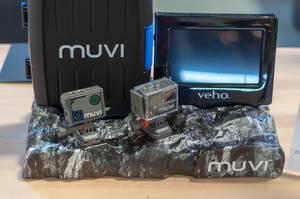 Muvi Action Kameras mit Gehäusen