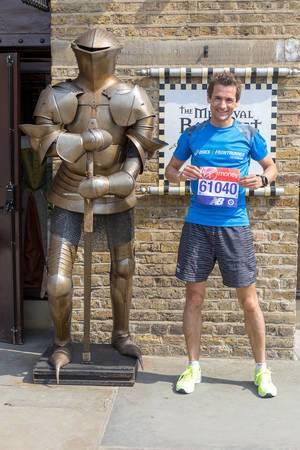 My London Marathon bib number