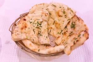 Naan Flatbread with garlics
