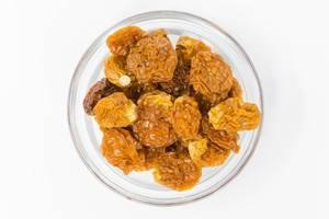 Nahaufnahme von getrockneten Bio-Kapstachelbeeren