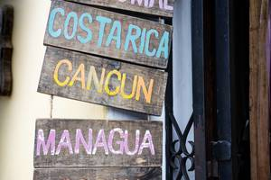 Names of touristic places
