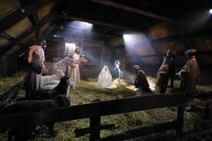 Nativity scene, birth of Jesus (Flip 2019)