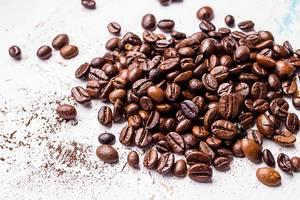 Natürliche Samen der Kaffeepflanze