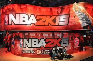NBA 2K15 @ Gamescom 2014
