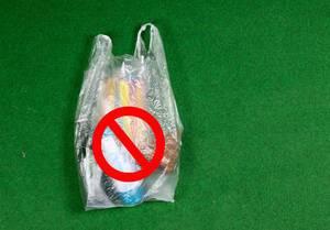 Nein zu Plastikeinkaufstüten