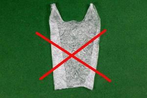 Nein zu Plastiktüten