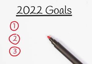 New Year goals 2022