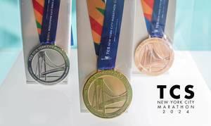 New York Marathon medals tbd