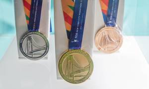 New York Marathon medals