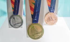 New York Marathon medals