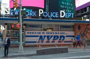 New York Police Dept @ Times Square New York