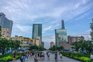 Nguyen Hue Walking Street in Ho Chi Minh City
