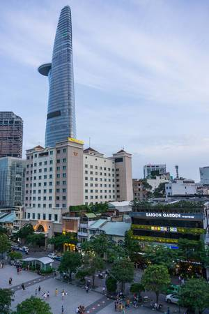 Nguyen Hue Walking Street in Saigon