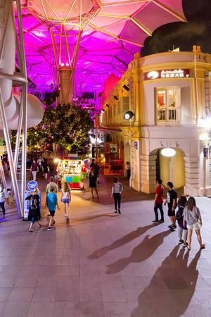 Nightlife in Singapur