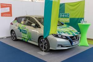 Nissan Elektroautos mieten mit NextMove - Autovermietung für E-Autos