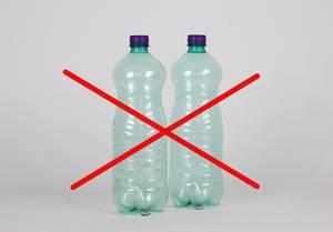 No plastic bottles