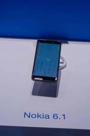 Nokia 6.1 auf der IFA Berlin 2018