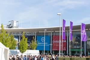 Nordeingang Koelnmesse - Gamescom 2017, Köln