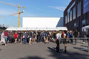 North entrance Koelnmesse - Gamescom 2017, Cologne