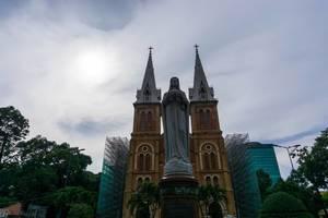 Notre Dame Kathedrale in Saigon