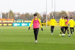 Öffentliches Training bei Borussia Dortmund gute Laune nach der Niederlage gegen Bayern München