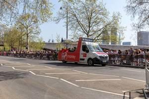 Official vehicle - London Marathon 2018