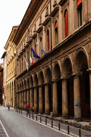 Old Bolognian street