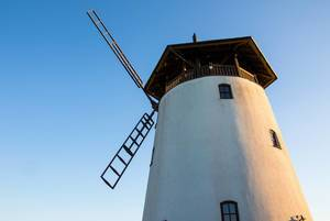 Old windmill in South Moravia, Czech Republic