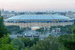 Olympiastadion Luzhniki in Moscow