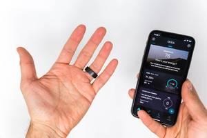 Oura Smart Ring und das dazu gehörene Oura Applikation