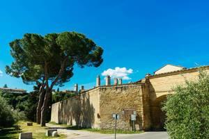 Outer walls of San Gimignano / Außenwände von San Gimignano
