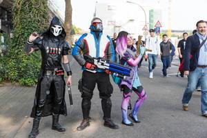 Overwatch Cosplayer - Gamescom 2017, Köln