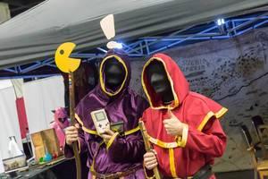 Pac-Man-Zauberer mit Nintendo Game Boys