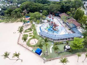 Palawan Pirate Ship Aerial Picture
