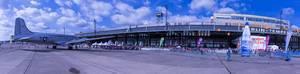 Panorama des Flughafens Berlin Tempelhof