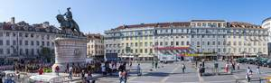 Panorama: Praça da Figueira